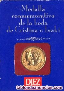 Pack medallas conmemorativas