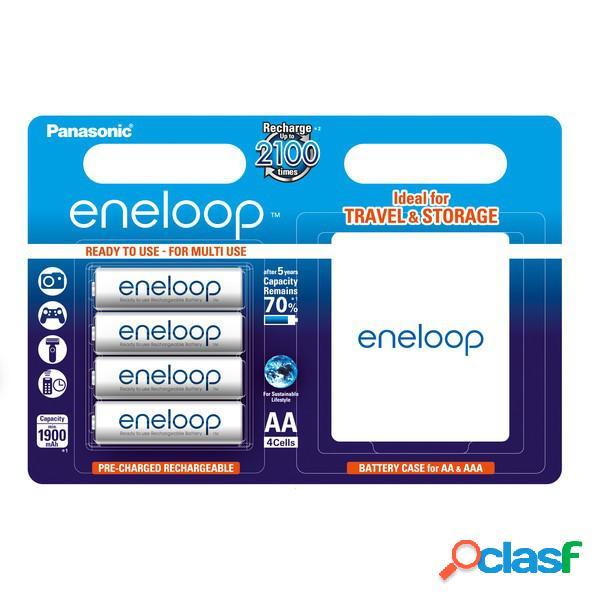 Panasonic eneloop bateria Aa - blister 4er + cofre