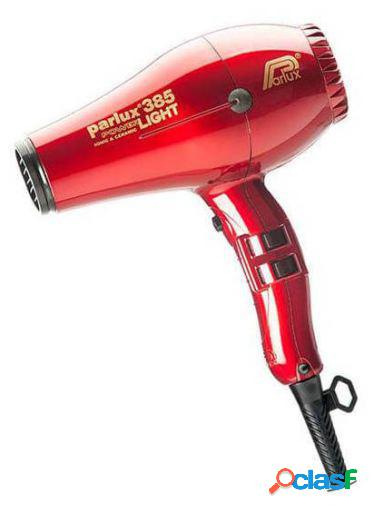 Parlux Hair Dryer 385 Powerlight Ionic & Ceramic Rojo
