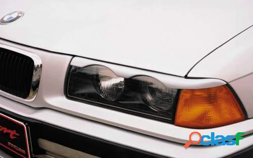 Pestañas faros delanteros para BMW 3 E36 2drs 1/92