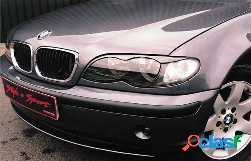 Pestañas faros delanteros para BMW 3 E46 4drs 10/01