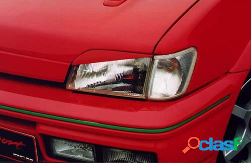 Pestañas faros delanteros para Ford Fiesta III 4/89-