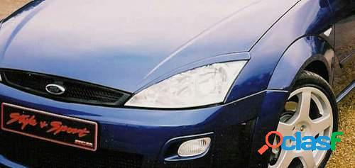 Pestañas faros delanteros para Ford Focus -12/04
