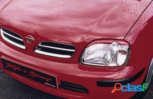Pestañas faros delanteros para Nissan Micra 3/98-7/00