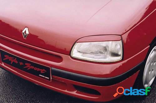 Pestañas faros delanteros para Renault Clio 5/96-ok