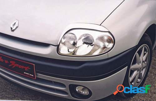 Pestañas faros delanteros para Renault Clio 8/98-01