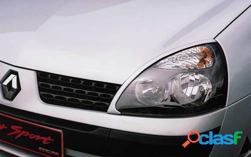 Pestañas faros delanteros para Renault Clio II 7/01