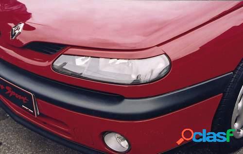 Pestañas faros delanteros para Renault Laguna 3/98-8/00l S