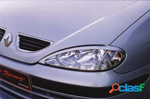 Pestañas faros delanteros para Renault Megane 3/99-excl S
