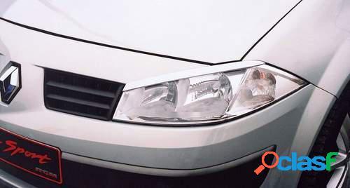 Pestañas faros delanteros para Renault Megane II 10/02