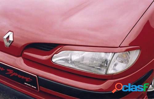 Pestañas faros delanteros para Renault Megane ok