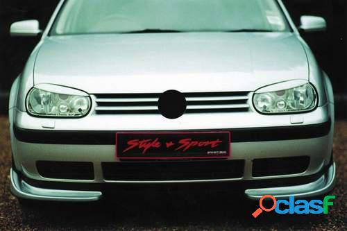 Pestañas faros delanteros para VW Golf IV 10/97-+ Cab
