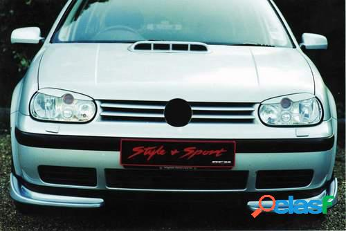 Pestañas faros delanteros para VW Golf IV 10/97-+ Cabrio 3/