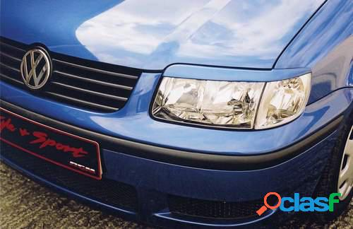 Pestañas faros delanteros para VW Polo 6N2 10/99-10/0