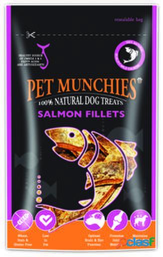 Pet Munchies Filetes de Salmón 90 GR