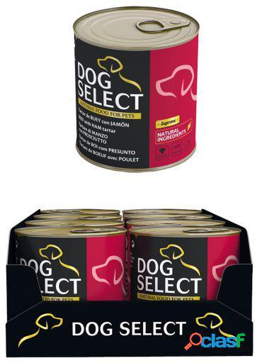 Pet select Dog Select Tartar De Buey Con Jamon 290Gr 290 GR
