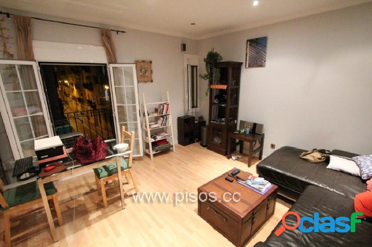 Piso de 1 habitacion doble con muebles