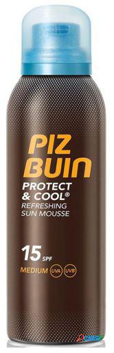 Piz Buin Protect and Cool Mousse Solar Refrescante SPF 15 -