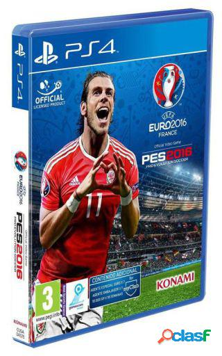 Playstation Pro Evolution Soccer Uefa Euro France 2016 Ps4