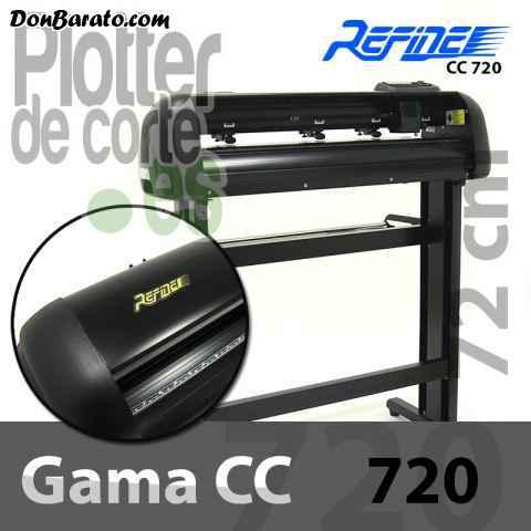 Plotter de corte refine cc720. con láser