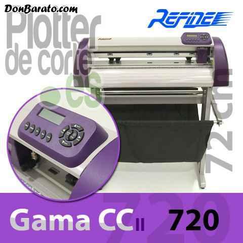 Plotter de corte refine cc720ii con laser