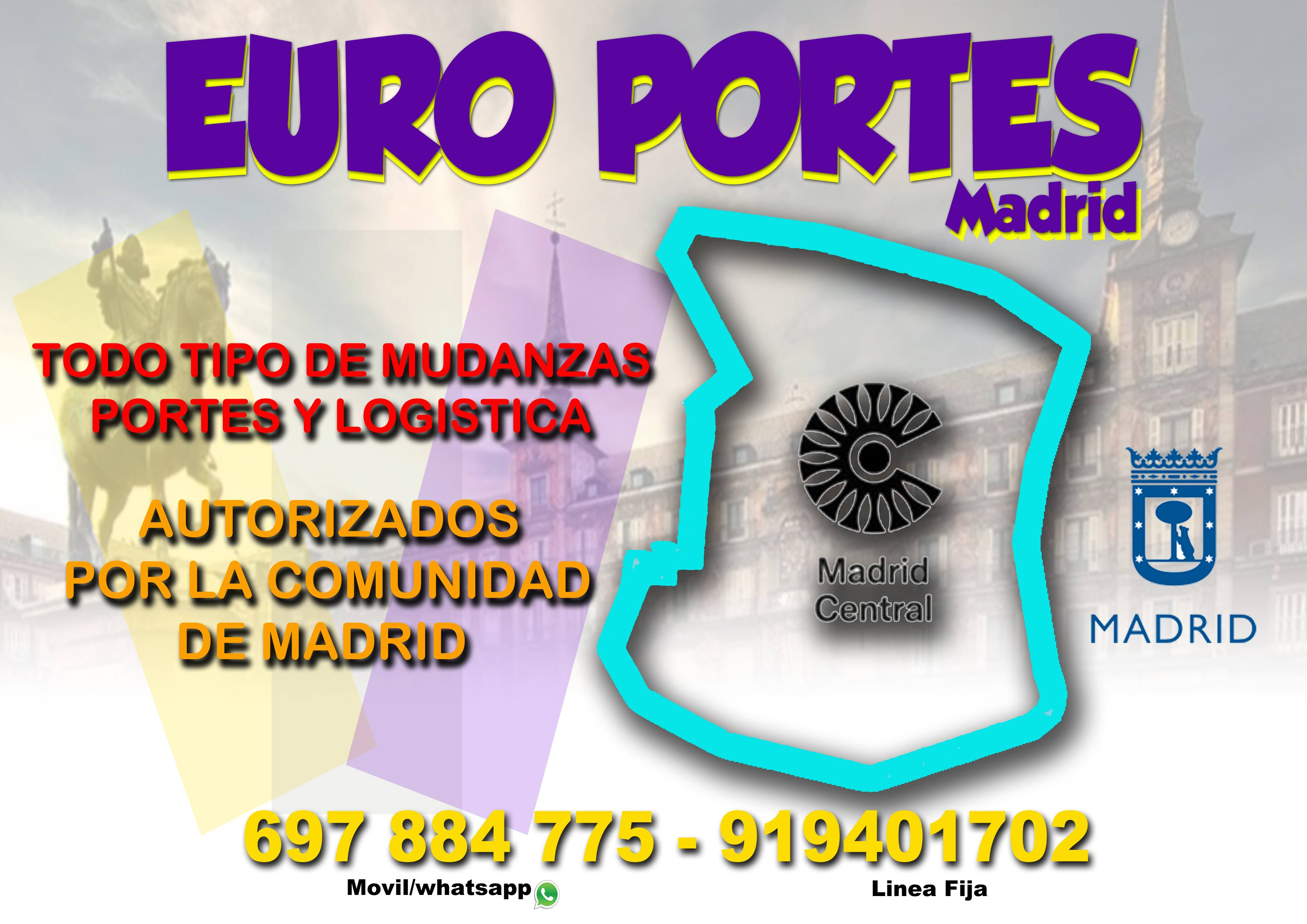 Portes y Mudanzas - #Economico