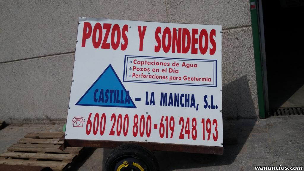 Pozos, sondeos y perforaciones para agua - Madrid