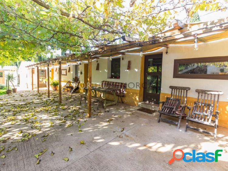 Preciosa boyera convertida en casa de campo, Sierra Morena