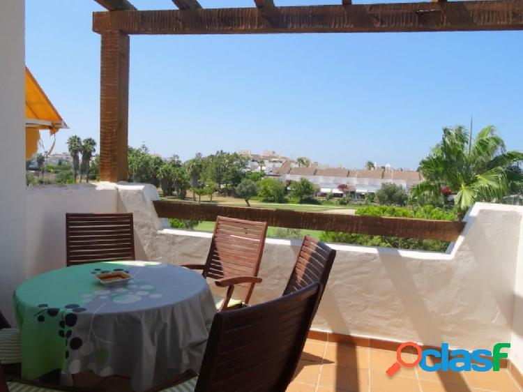 Precioso piso en Costa Ballena con piscina, pista de