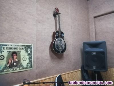 Profesor de guitarra acústica,española o electroacústica.
