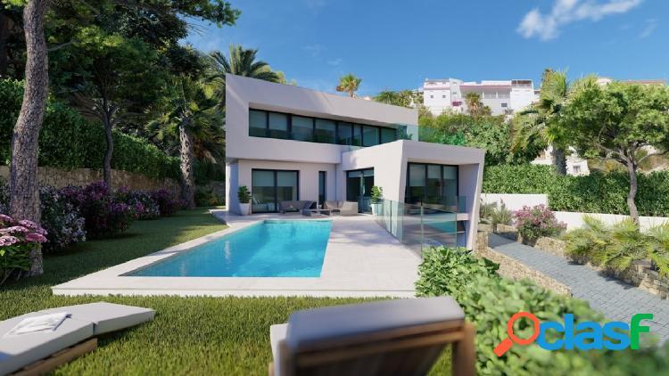 Proyecto: Maravillosa villa de estilo moderno en Moraira
