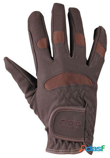 QHP Guante multi marrón XS