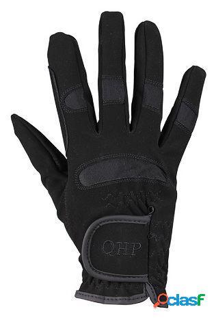QHP Guantes multi invierno negro junior T-2
