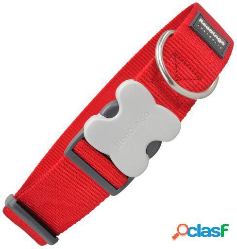 Red Dingo Collar Extra Ancho Rojo 4x50-80 cm