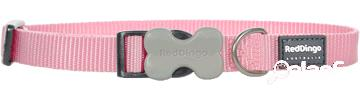 Red Dingo Collar Perro Liso Rosa 2x30-47 cm