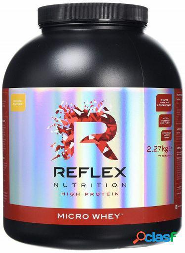 Reflex Nutrition Micro Whey 2270 gr Vainilla