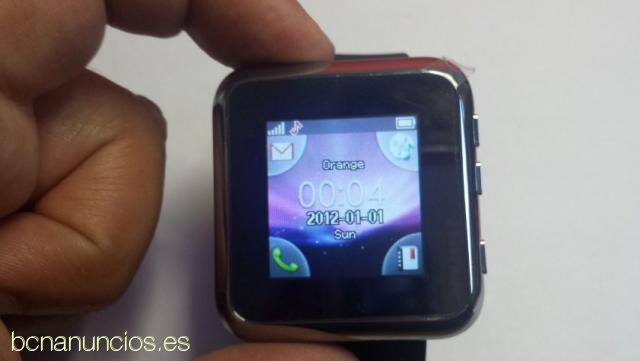 Reloj Teléfono Móvil Inteligente Pulsera Bluetooth RJ3GSM