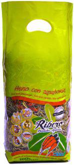 Ribero Heno de Festuca con Zanahoria 500 GR