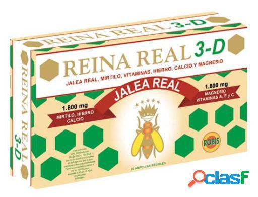 Robis Reina Real 3D 10 ml 20 Viales