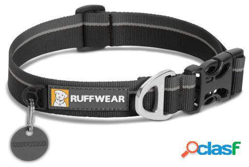 Ruffwear Collar Perro Hoopie Obsidian Black 20-26 cm