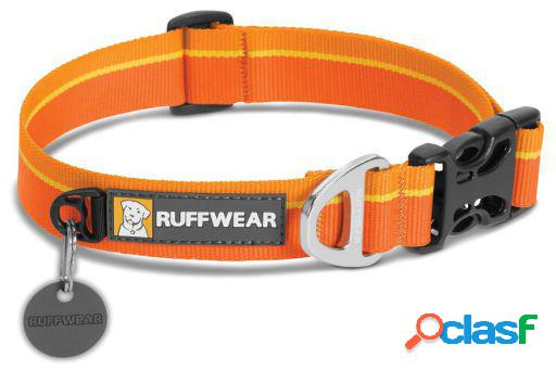 Ruffwear Collar Perro Hoopie Orange Sunset 20-26 cm