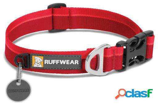 Ruffwear Collar Perro Hoopie Red Currant 20-26 cm