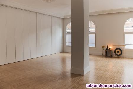 Sala de 65m² para eventos, formaciones, cursos y talleres
