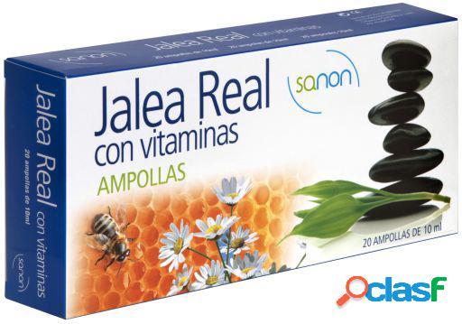 Sanon Jalea Real con Vitaminas de 10 ml 20 Ampollas 380 gr