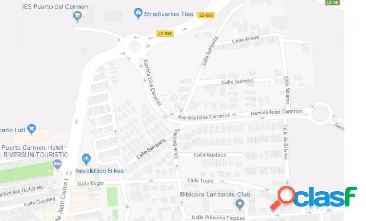 Se vende solar urbano en Puerto del Carmen