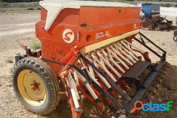 Sembradora mecánica usada sola de 3 metros