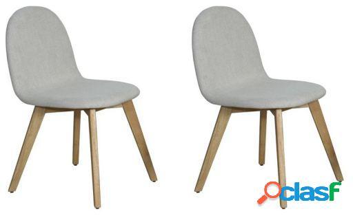 Set 2 sillas Liro madera