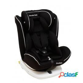 Silla de coche Mondial Safe Osaka Isofix Negra con Vivo