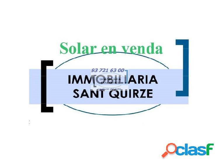 Solar Urbano Venta Sant Quirze del Vallès