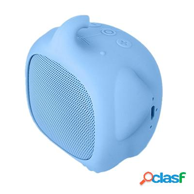 Spc Altavoz Bluetooth Sound Pups 3W MicroSd Azul, original